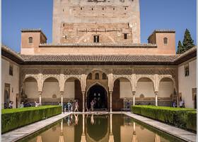 Альгамбра. Миртовый дворик.