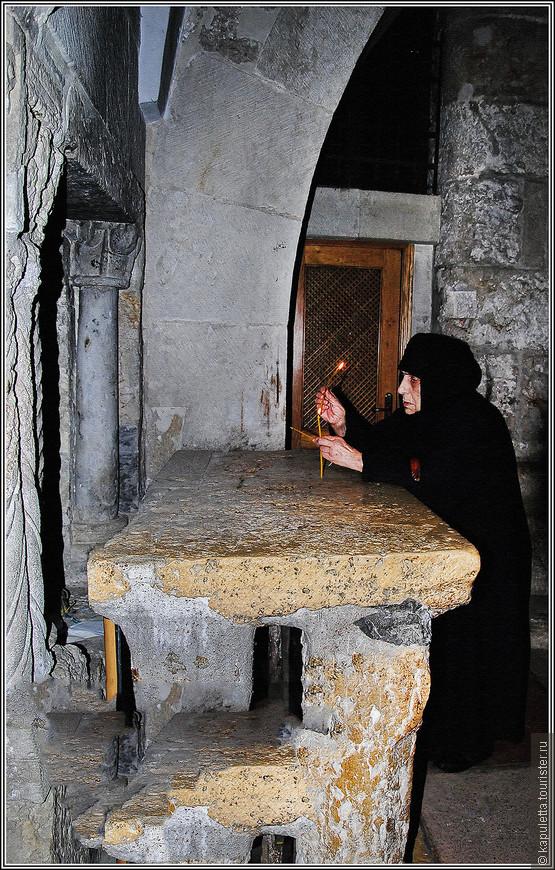 Здесь Иисус провел последние дни перед казнью