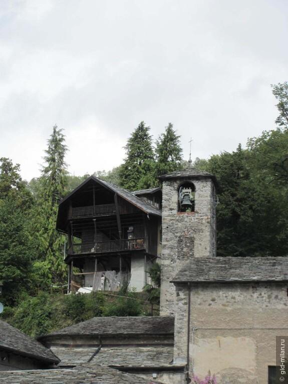 Типичный домик жителей горной долины.