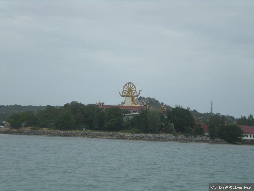 Вид на Биг Будду. Остров Самуи