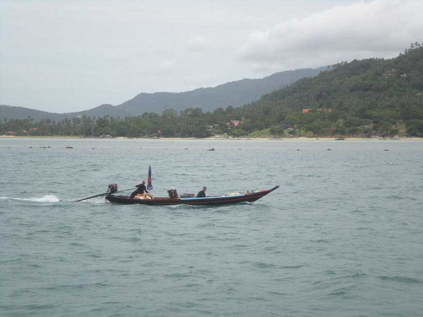 Рыбаки на Самуи