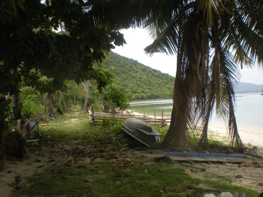На острове Тан рядом с островом Самуи