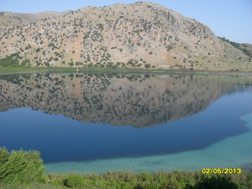 озеро Курнас-о.Крит