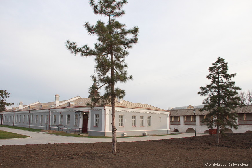 Солдатская казарма.