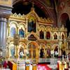 Иконостас в православном Успенском соборе