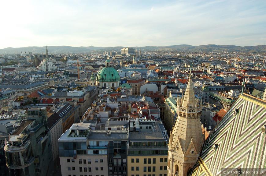 Виды с собора Святого Стефана...Есть у нас пунктик-лезть на все башни...)))