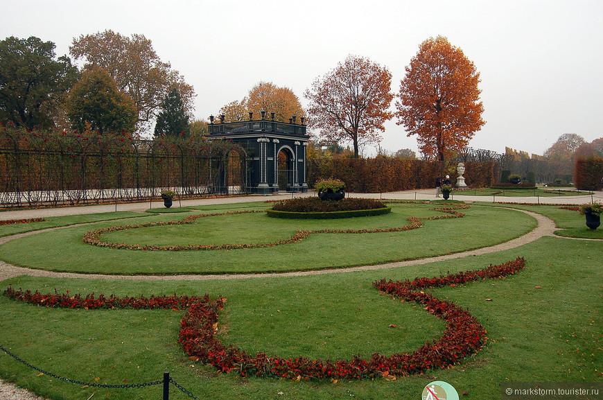 Парковая зона в Шёнбрунне, октябрь 2013 г.