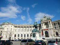 Вена. Дворцы Хофбург и Бельведер.