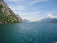 По озеру Гарда на кораблике от г.Дезанцано