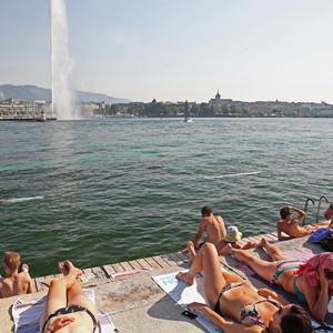 Женева: пляжный отдых на