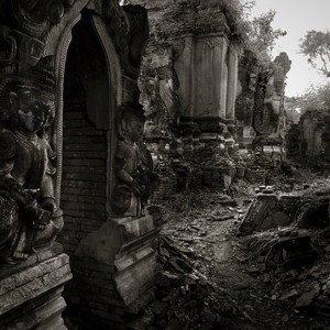 Бирма • Чёрное и Белое