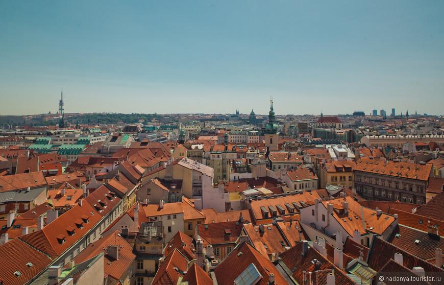 Вот они мои любимые, красивые, оранжевые крыши...)))