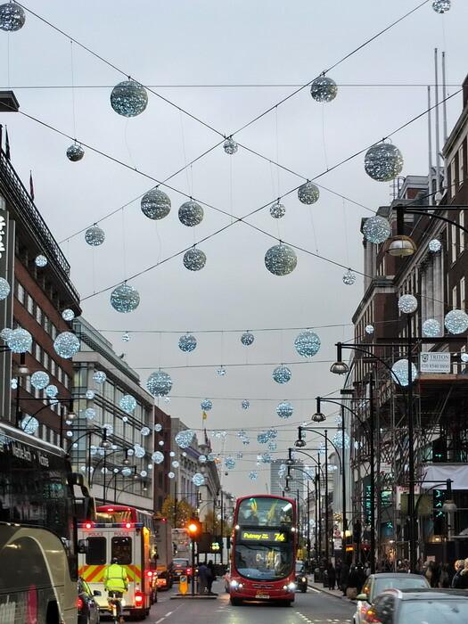 торговая улица Оксфорд-стрит (Oxford Street)