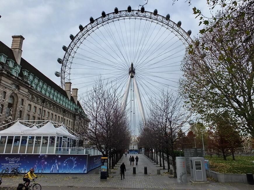 """Колесо обозрения """"Лондонский Глаз"""" (London Eye)"""