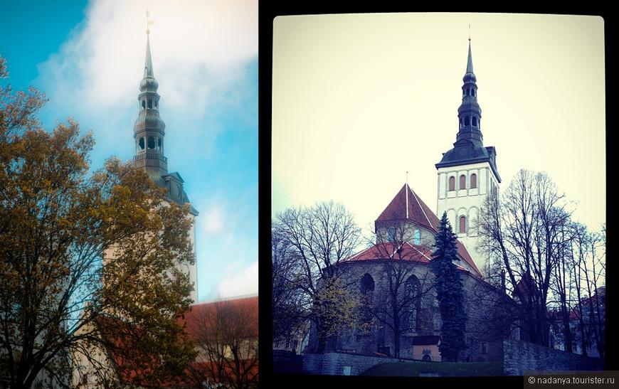 Осень в Таллине была очень нежной и вдохновляющей