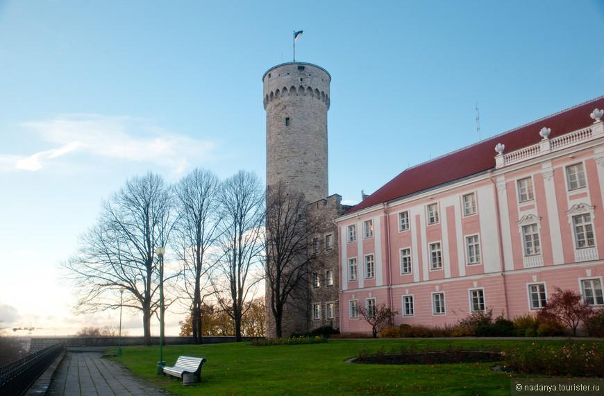 садик с башней длинного Германа