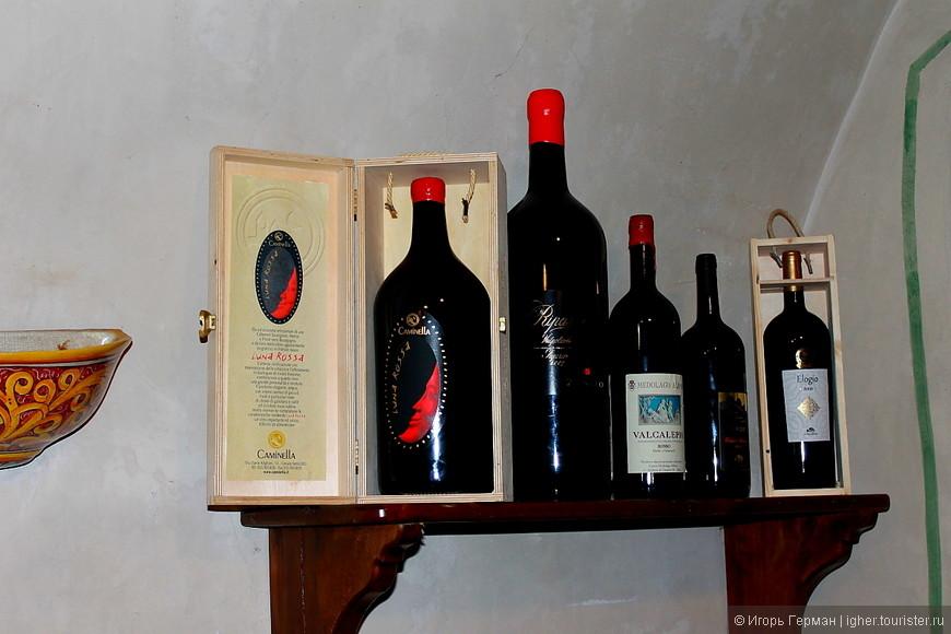 """по теме вина хорошо и разнообразно """"затарены"""""""