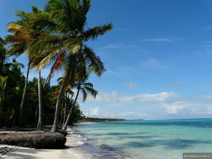 Дикий пляж в Пунта Кане