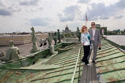 Крыши Эрмитажа откроют для туристов и руферов