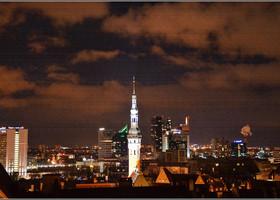 Ночь.Улица.Фонарь. And Tallinn.