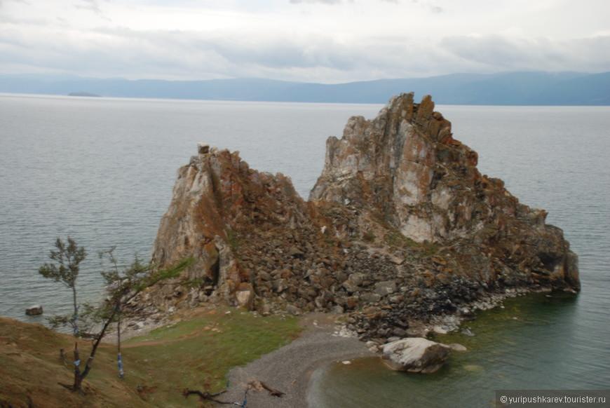 Остров Ольхон. Мыс  Бурхан.