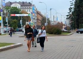 Мода юных жительниц Минска