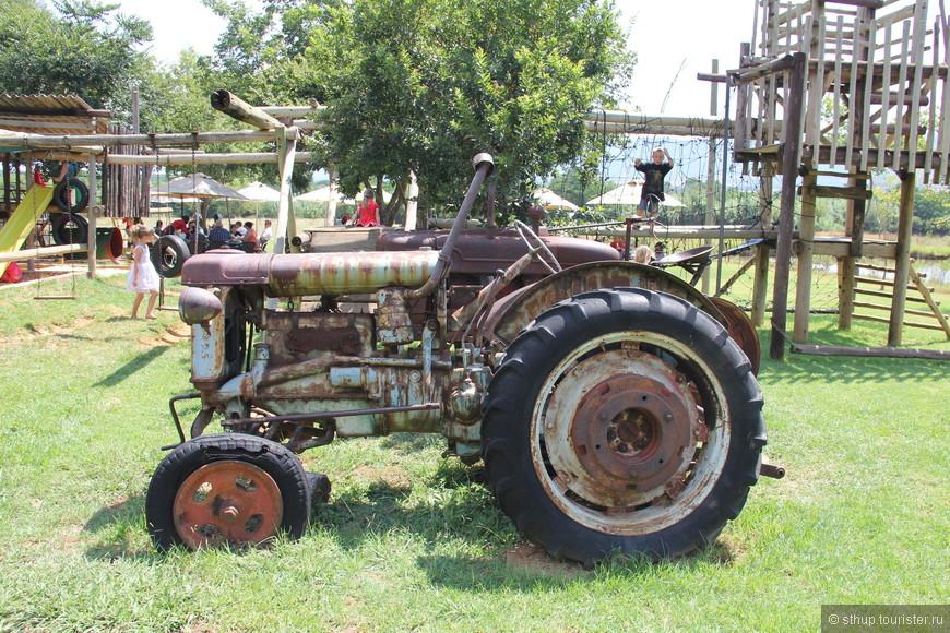 Сырная ферма(старая техника для красоты),а так всё современно