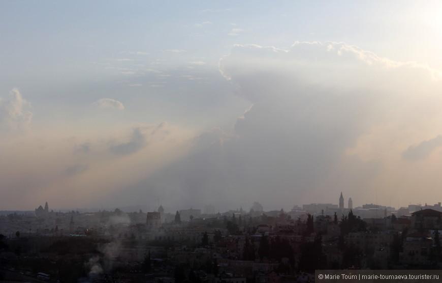 На выезде из Иерусалима