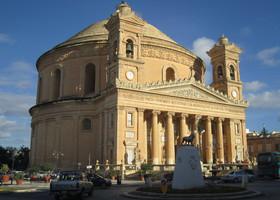 о. Malta: Mosta, Mdina