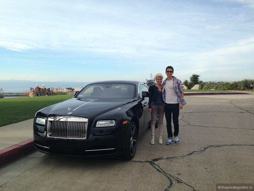 Rolls-Royce Wraith test drive по побережью Южной Калифорнии;)
