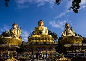 Катманду. Ступа Сваямбхунатх