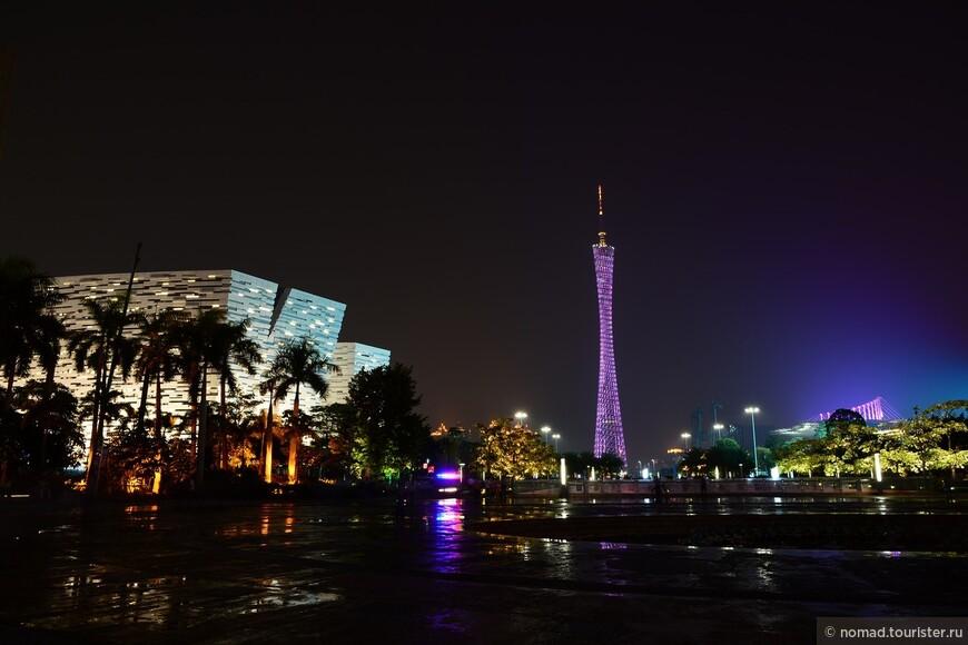 Телебашня Гуанчжоу — вторая по высоте телебашня в мире. Построена в 2005—2010 годах компанией ARUP к Азиатским Играм 2010 года.