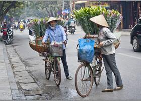 Первое знакомство с Ханоем (Вьетнам)