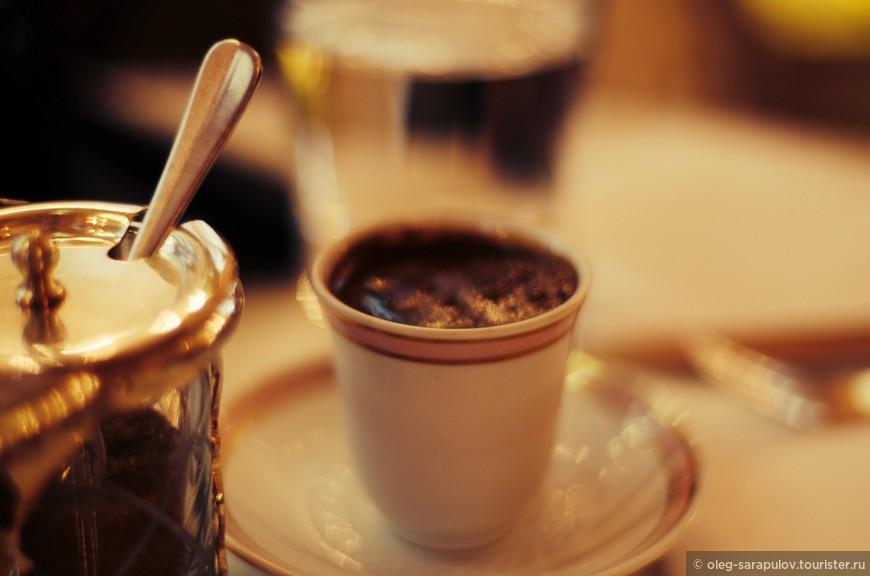 Турецкий кофе в новогоднее утро
