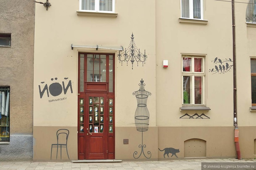 Один из редких обновленных домов в центре оставляет приятное впечатление.