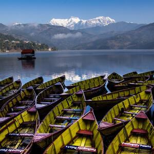 Озеро Бегнас. Королевство Непал