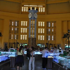 Центральный рынок в Пномпень.