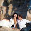 Первые модели  нашего свадебного фотографа Вячеслава в Италии