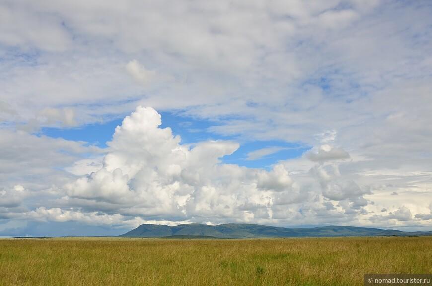 Облака над Масаи-Мара