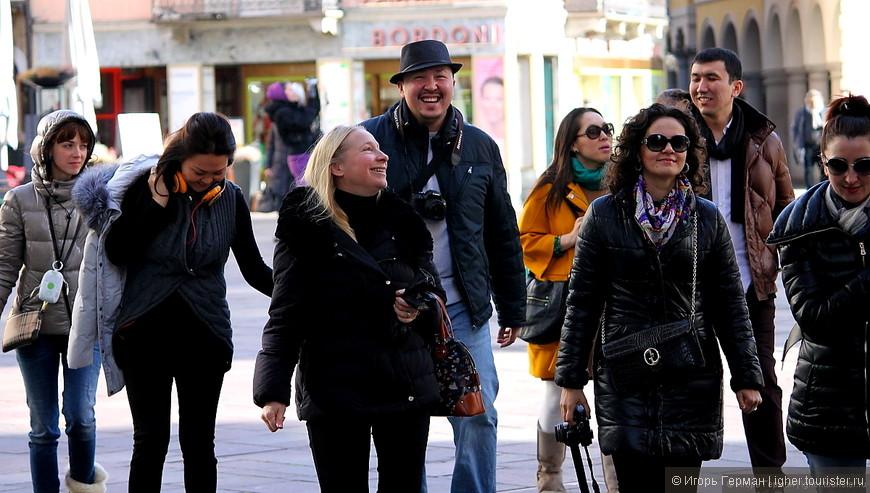 русскоязычные туристы