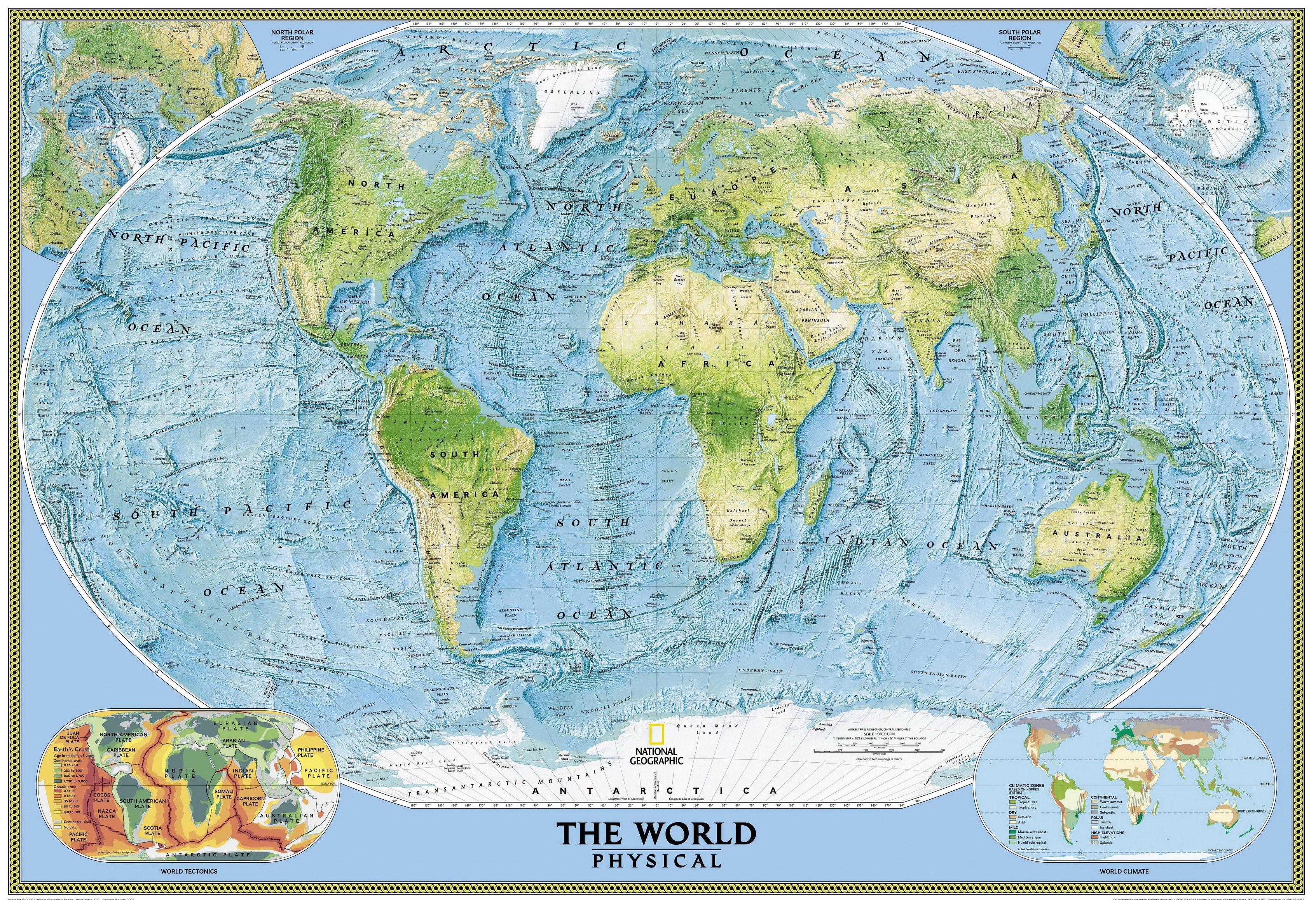 азия фото карта