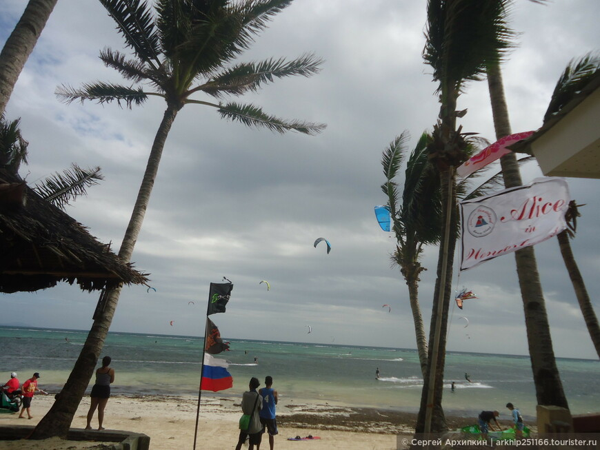 Пляж Булабог - еще более ветренный.,но это в кайф тем кому он нужен для спорта.