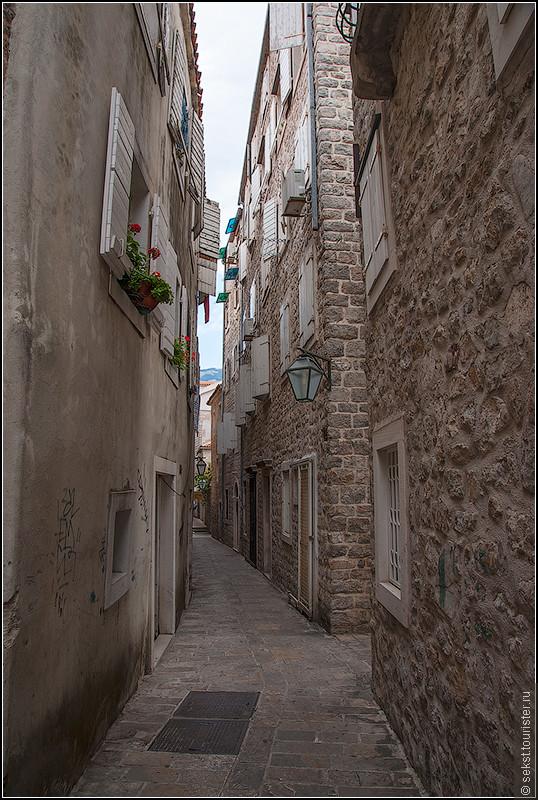 Милые узенькие улочки старого города