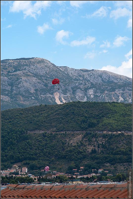 Вдоль береговой линии на парашюте - лично мне понравилось!