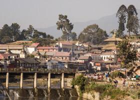 Пашупатинтах — храм-крематорий. Непал