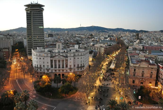 Барселона — день и ночь