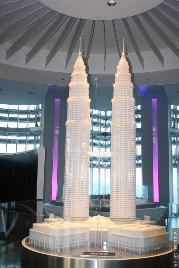 Макет башен внутри башен.