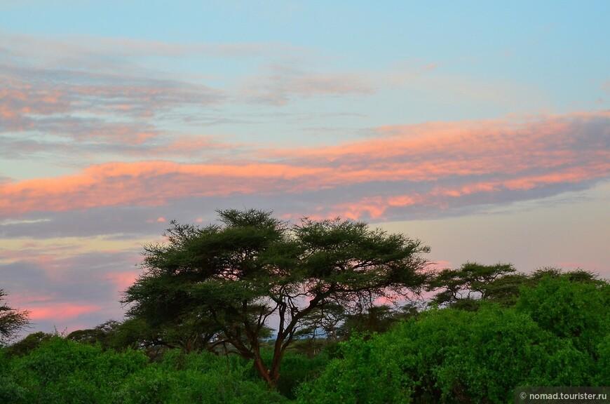 Рассвет в Самбуру