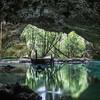 По пути есть множество выходов в джунгли.Наш тур в сенотах и подземных реках Ривьера Майя, Канкун, Плайя дель Кармен, Мексика. Сак Актун.