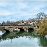 Максбрюке считается самым старым каменным мостом в городе